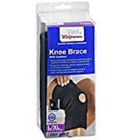 Walgreens Knee Brace with Cushion, Large/XL 1 ea