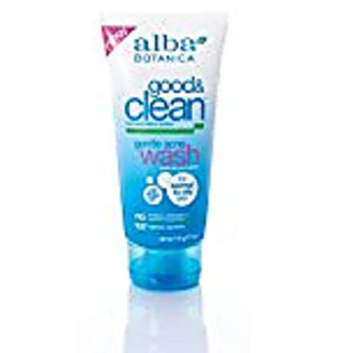 Alba Botanica Good & Clean Gentle Acne Wash, 6 oz