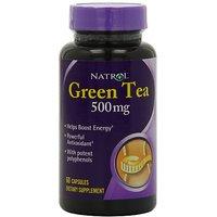 Natrol Green Tea 500mg Capsules, 60-Count (Pack Of 3)