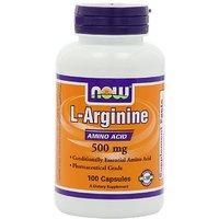 NOW Foods L-Arginine 500mg, 100 Capsules