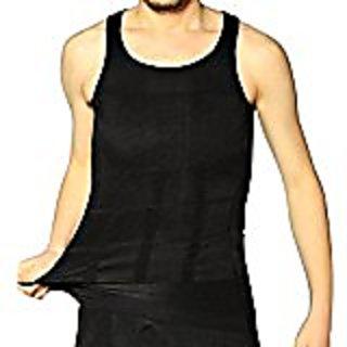 Shop Flash Stoh Reducing Body  Compression Undershirt for Men, Bla, Medium