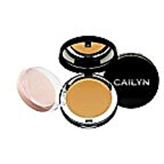 Cailyn Cosmetics Deluxe Mineral Foundation Pressed Powder, Tan, 0.3 Ounce