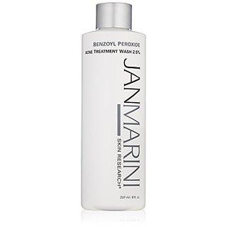 Jan Marini Skin Research Benzoyl Peroxide Acne Treatment Wash 2.5%, 8 fl. oz.