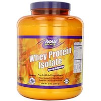 NOW Foods Whey Protein Isolate, 100% Pure 5Lb (Packagin