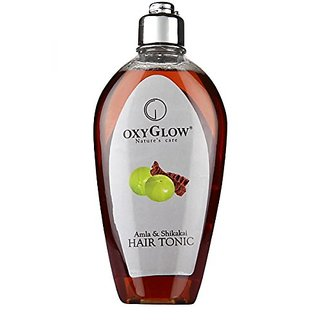 Oxyglow Natures Care Amla & Shikakai Hair Tonic - 120ml