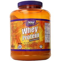 NOW Foods Whey Protein, Dutch Chocolate, 6-Pound Contai