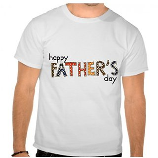Happy Father Day Round Neck T-Shirt