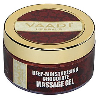 Vaadi Herbal Deep-Moisturising Chocolate Massage Gel With Liquorice Extract 50gm