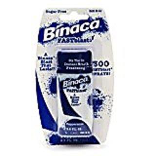 Binaca Fastblast Breath Spray Peppermint 0.50 Oz (Pack of 12)