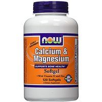 NOW Foods Calcium/Magnesium Plus Vitamin D And Zinc, 12