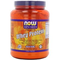 Now Foods Whey Protein, Vanilla With Glutamine, 2-Pound