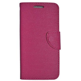 Colorcase Flip Cover Case for Samsung Galaxy On Nxt - (Pink)