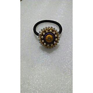 silk thread hair accessory