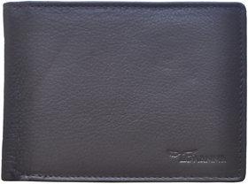 Tamanna Men Brown Genuine Leather Wallet  (5 Card Slots)