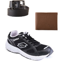 Lotto Black And White Sport Running Shoes F5R2565-3597 - 101077720