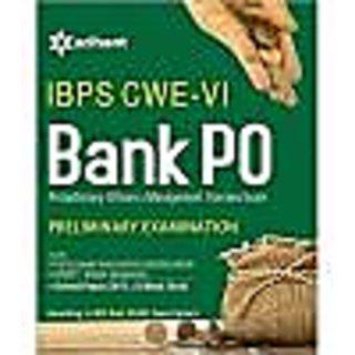 IBPS CWE-VI Bank PO (PO/MT) Preliminary Examination Paperback English