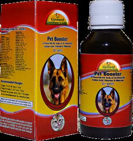 Pet Booster - A Pet Tonic of 46 Powerful Amino Acid, Vitamins  Minerals.