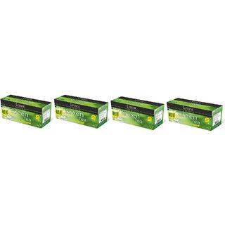 Lemor Premium Green Tea With Different Flavours Set of 4 (Lemor Premium, Tulasi, Mint, Lemongrass)