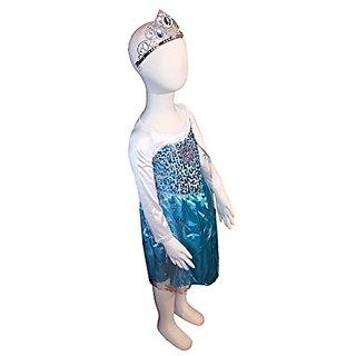 FROZEN Dresses for Kids - Dress Up Costume - Pretend Play (Child- XL, Elsa)