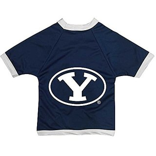 NCAA Brigham Young University Cougars Collegiate Athletic Mesh Dog Jersey (XX-Small)