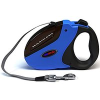 Retractable Dog Leash - Long (16 Ft) - For Dogs Up To 110 Lbs With Instant Stop & Lock Mechanism - Durable & Tangle-free