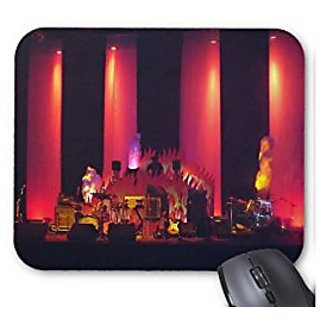 DJ Plays Before Live Band Mouse Pad/Mat
