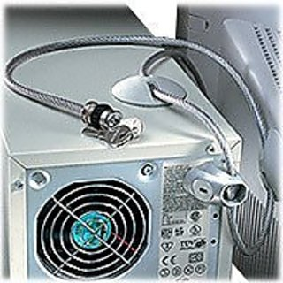 Kensington Desktop Microsaver Universal Computer Key Lock and Cable Security System (K62696)