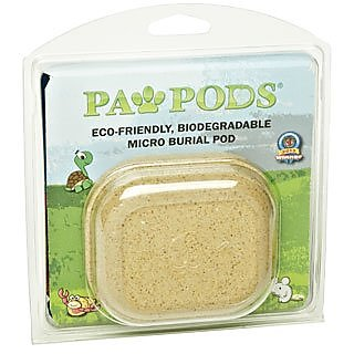 Paw Pods Biodegradable Micro Pet Casket