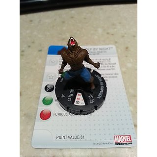 Marvel Heroclix Amazing Spider-Man Werewolf by Night