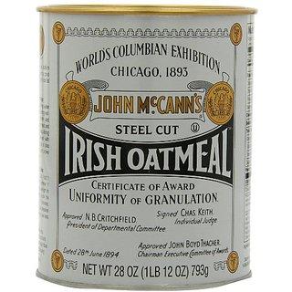 Mccanns Steel Cut Oatmeal, 28-Ounce Tin (Pack of 4)