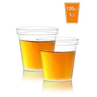 Elite Selection Pack Of 120 1 Oz. Shot Glasses Cups