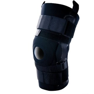 Scott Specialty 90530 Hinged Knee Support with Universal Felt Butress, Large, 13