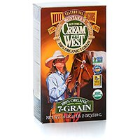 Cream Of The West 100% Organic Roasted 7-Grain Hot Cereal 18 Oz 3-Pack