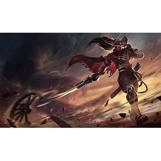 SEG Direct High Noon Yasuo Large Mouse Pad 16