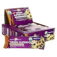 Amazing Grass Green Superfood Bars High Fiber Oatmeal Raisin Nut -- 12 Bars
