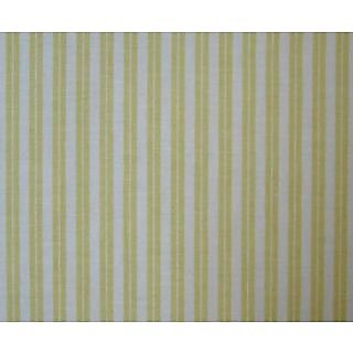 SheetWorld Fitted Square Playard Sheet 37.5 x 37.5 (Fits Joovy) - Yellow Dual Stripe - Made In USA