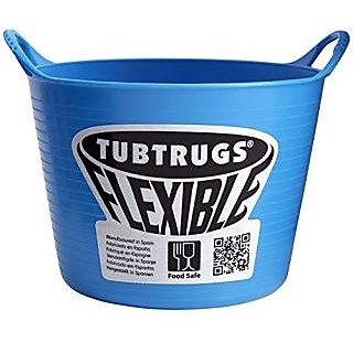 Tubtrugs SPMICBL Flexible Blue Micro .37 Liter/12.5 Ounce Capacity