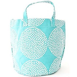 See Design Big Wheels Circle Tote, Turquoise, One Size