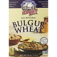 Hodgson Mill All Natural Bulgur Wheat With Soy, Hot Cereal, 18-Ounce Boxes (Pack Of 6)