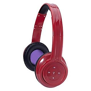 Craig Bluetooth Stereo Headphone- Red