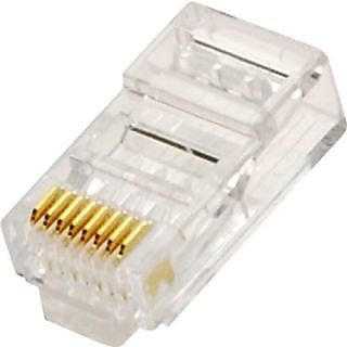 Steren 301-191-25 CAT6 Modular Plug; 25pk