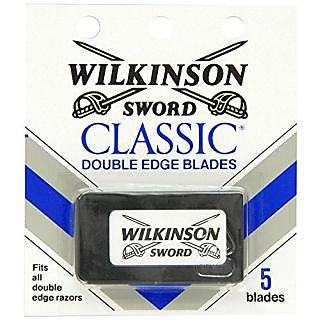 Wilkinson Sword Double Edge single Razor Cartridge, 20 blades