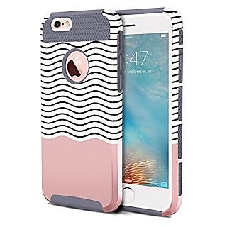 iPhone 6 Cases, iPhone 6S Case, BENTOBEN 2 Piece Ultra Slim iPhone 6 Covers Hard Shell Soft TPU Dual Layer Shockproof Bu