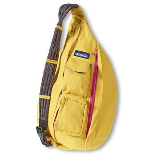 KAVU Rope Bag, Gold, One Size