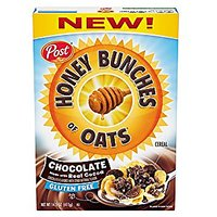Honey Bunches Of Oats Chocolate Gluten Free Cereal 14.5 Oz (Pack Of 2)