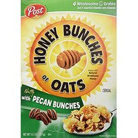 Post Honey Bunches Of Oats With Pecan Bunches Cereal 14.5 Oz