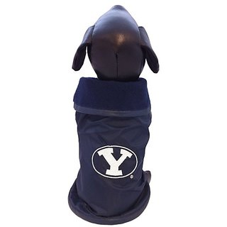 NCAA Brigham Young University Cougars Collegiate Outerwear Dog Coat (XX-Large)