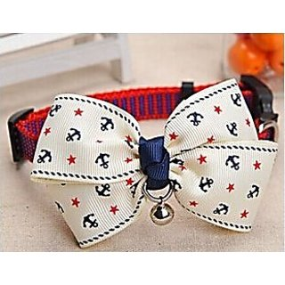 Blingys Stylish Miscellaneous Fine Buckled Bowknot Collar/Bow-Tie with Bell for Cats or Small Dogs(Packed in Blingys Gif
