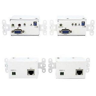 StarTech.com STUTPWALLA VGA Wall Plate Video Extender over Cat5 with Audio