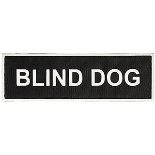 Blind Dog Medium nylon velcro patches by Dean & Tyler.